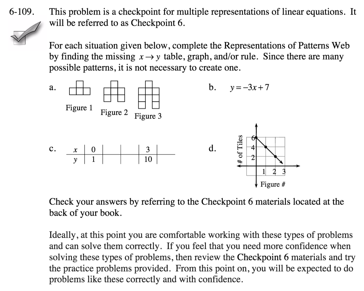 cpm homework help cc3 chapter 6